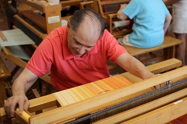 Resident Weaving