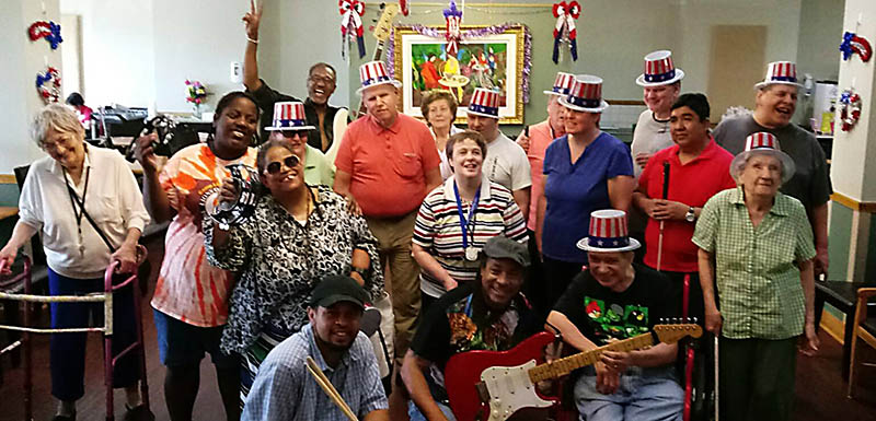Our Residents 4th of July