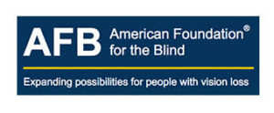 AFB American Foundation for the Blind logo